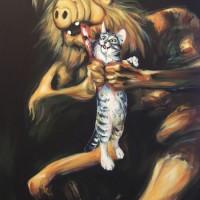 Goya Saturn Devouring His Son