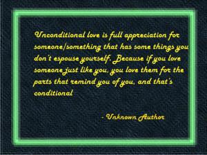 Unconditional Love quotes: Famous Unconditional Love Quotes