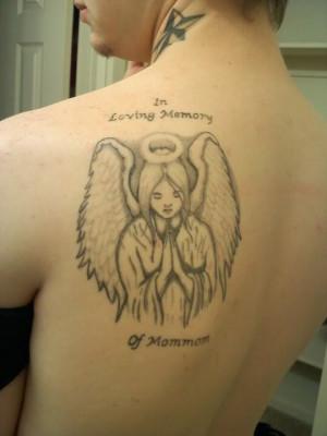 grandma memorial tattoo memory of his grandmother memorial grandma ...