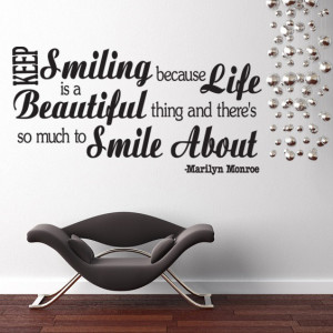 Keep Smiling Quotes'