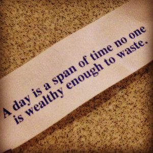 Fortune cookie quote