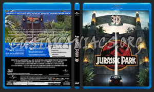 Jurassic Park Blu Ray Cover