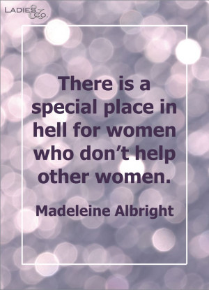Madeleine Albright #quote
