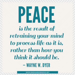 Peace From Within Inner Quotes Mind