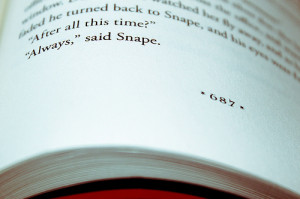 book, deathly hallows, harry potter, jk rowling, quote