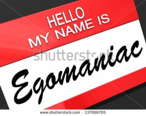 Handsome Narcissistic Suit Proud Young Man Looking Himself In The
