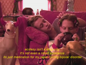 drugs, ecstasy, macaulay culkin, movie, party monster, quote, seth ...