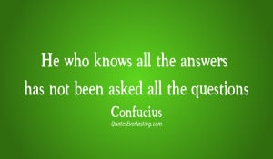 Confucius Quotes About Life