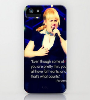 Fat Amy quote case