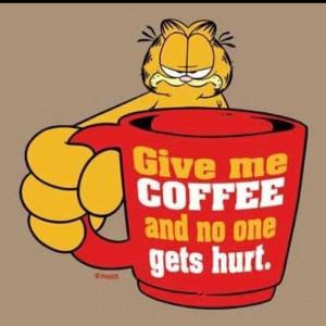 Love Garfield. Because Garfield loves coffee. | COFFEE