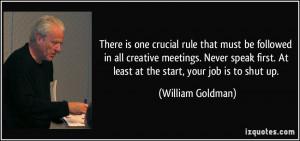 More William Goldman Quotes
