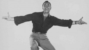 caption Blessed with athleticism and skill, actor-dancer Gene Kelly ...
