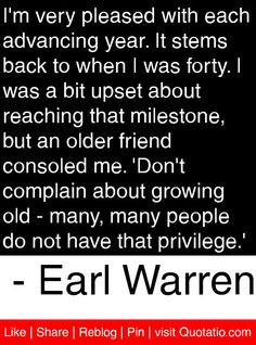 ... people do not have that privilege earl warren # quotes # quotations