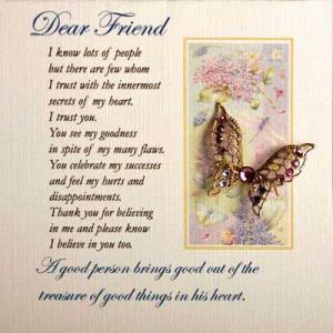 Dear friend - Image