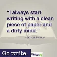 ... here are 7 funny charming quotes about writing that you will enjoy