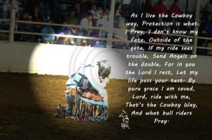 quotes #prayer #cowboy #bull ridingCowboy Bullriding, Bullrider Prayer ...
