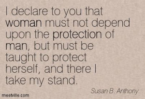quotes | ... , and there I take my stand. woman, protection, man ...