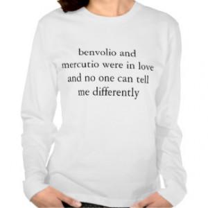 Benvolio and Mercutio Love