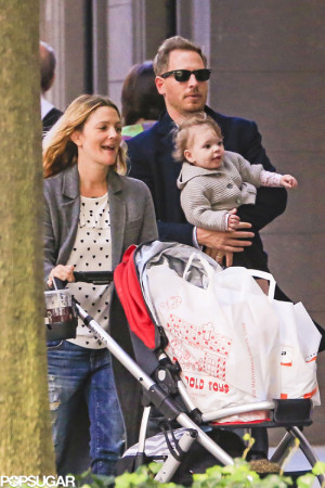 Drew Barrymore and Family