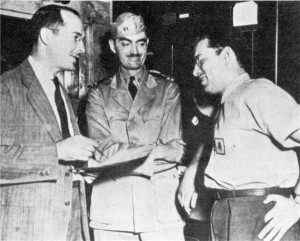 Robert A. Heinlein, L. Sprague de Camp, and Isaac Asimov, Philadelphia ...