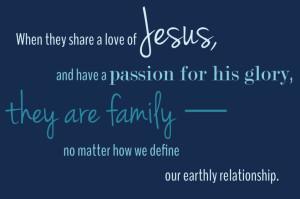 Love Jesus Family Quote | One Radiant Home