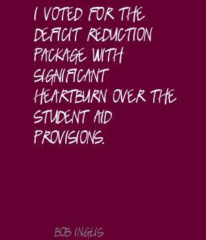 Deficit Reduction Quotes