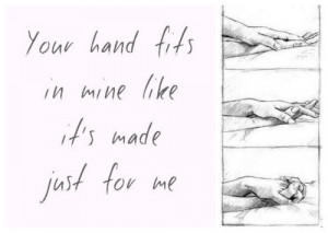 ... art couple cute quote forever hands romance happiness holding