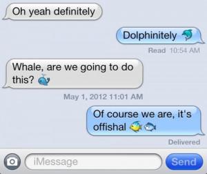 funny iphone emoji dolphinitely