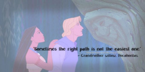 Disney's Pocahontas movie quote