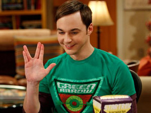 Jim Parsons plays Sheldon Cooper in The Big Bang Theory.