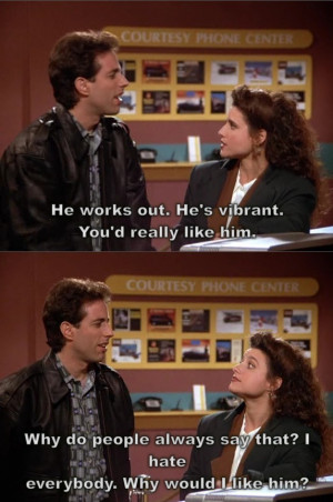 Seinfeld The alternate side- quote