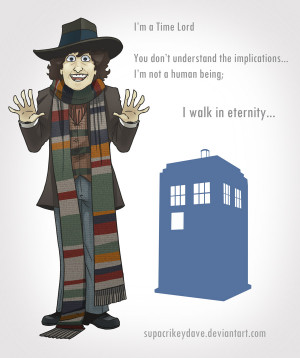 4th Doctor by SupaCrikeyDave