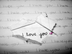 Hate You Because I Love You Quotes