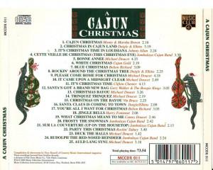 VA - 1995 - A Cajun Christmas Images
