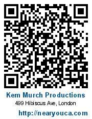 Kem Murch Productions, London, +1(519) 673-3342 - 499 Hibiscus Ave ...