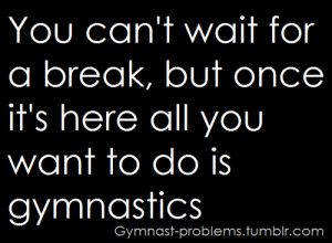 ... you ever give another gymnastics quote page on ig a shout out