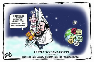 luciano pavarotti 1935 2007 luciano pavarotti whose glorious unforced ...
