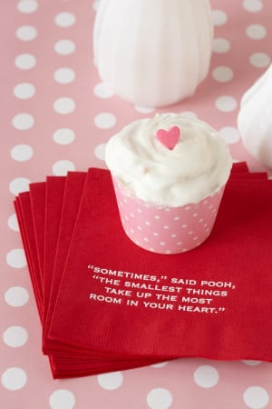 Sweet Treat. Enjoy cute little cupcakes on personalized napkins. It ...