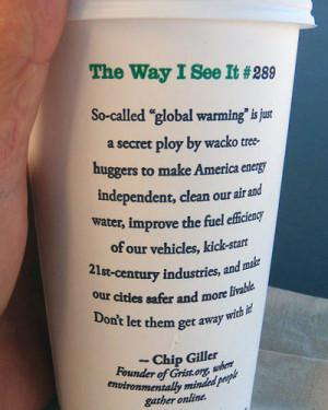 Global Warming Starbucks