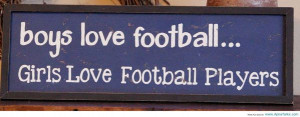 Football Players Romantic Quotes of Football