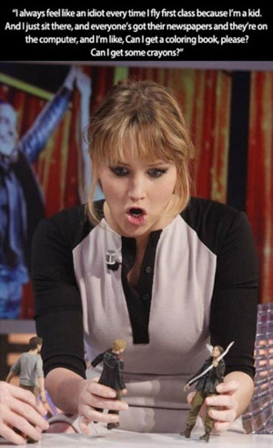 Jennifer Lawrence Goes Mad
