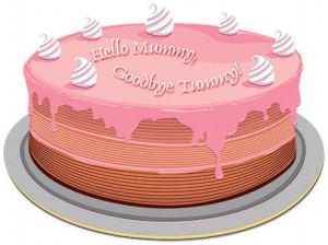 Baby Shower Cake Sayings