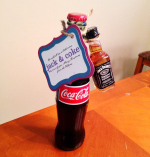 Jack And Coke Christmas Gift picture