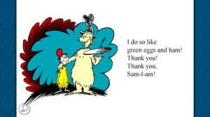 green eggs and ham dr seuss quotes