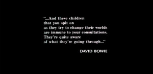 breakfast club quotes david bowie