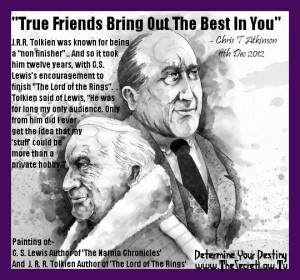 regarding C. S. Lewis & J. R. R. Tolkien inspirational picture quotes ...