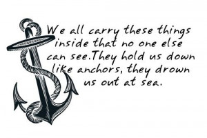 Anchor Quote Tattoo -