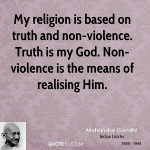 Gandhi Quotes Truth Is God ~ Mohandas Gandhi Quotes | QuoteHD