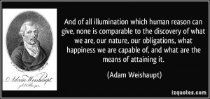 Adam Weishaupt Quotes