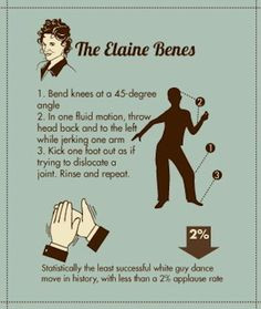 The Elaine Benes | 15 Infographics That Will Make You A Great Dancer